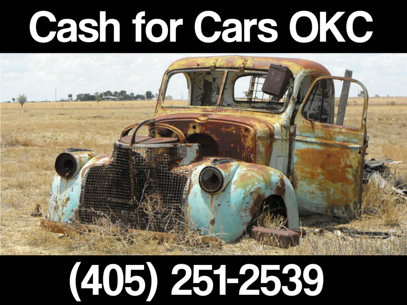 cash for junk cars same day pick up okc